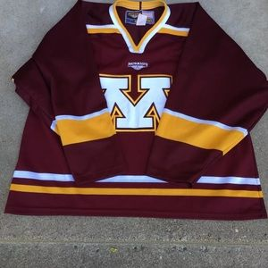 new arrival 6c106 29861 Minnesota Gophers Hockey Jersey Men's XL